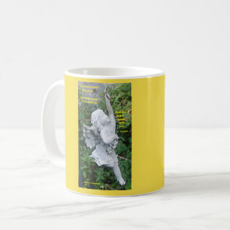 THE BODY HEALS ANGEL PROVERB MUG