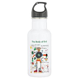 The Body of Evil 532 Ml Water Bottle
