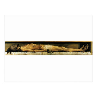 The body of the Dead Christ in the Tomb c. 1522 Postcard