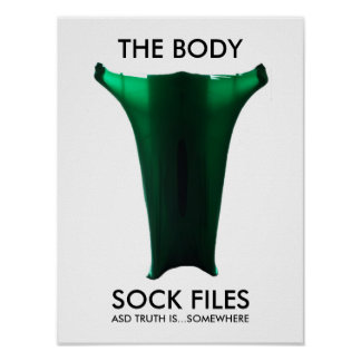 The Body Sock Files Poster for Autism Awareness