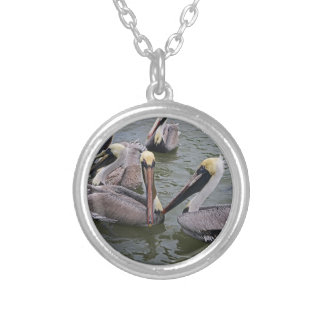 The Bohemians Silver Plated Necklace