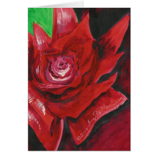 The Bold Red Rose Art Cards