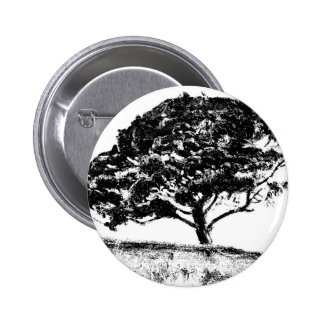 The Bonaventure Pine 6 Cm Round Badge
