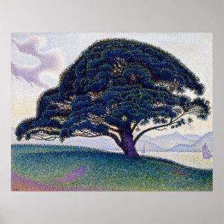 The Bonaventure Pine by Paul Signac Poster