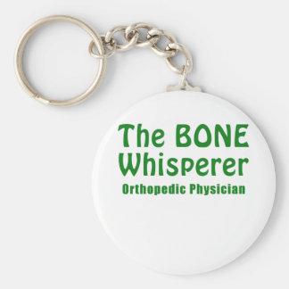 The Bone Whisperer Orthopedic Physician Basic Round Button Key Ring