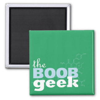 The Boob Geek logo magnet