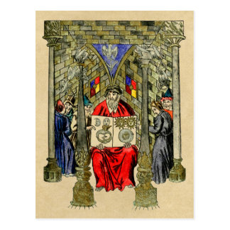 The Book of Alchemy and Hermetic Arts Postcard