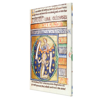 The Book of Ecclesiastes Canvas Print