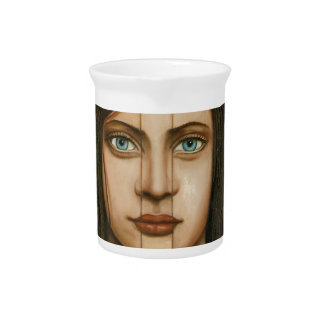The Book Of Secrets Drink Pitcher