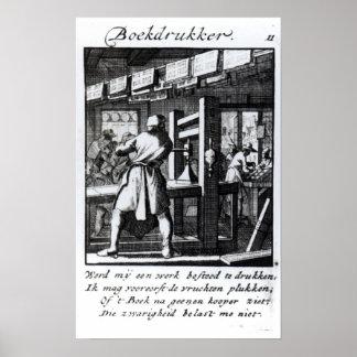 The Book Printer Poster