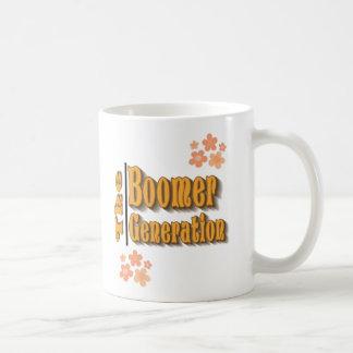The Boomer Generation Flowers Coffee Mug