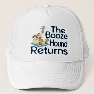 The Booze Hound Returns Trucker Hat