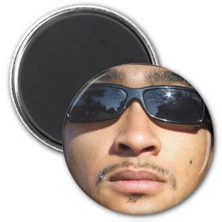 The Boss 6 Cm Round Magnet