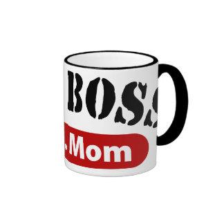 The Boss a.k.a. Mom Ringer Coffee Mug