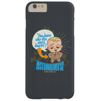 The Boss Baby | Astronauts Barely There iPhone 6 Plus Case
