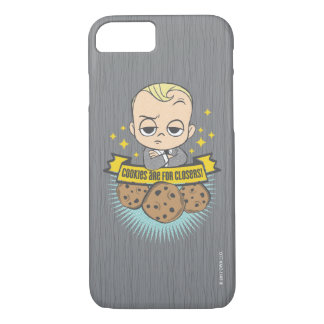 The Boss Baby | Baby & Cookies are for Closers! iPhone 7 Case