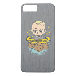The Boss Baby | Baby & Cookies are for Closers! iPhone 8 Plus/7 Plus Case