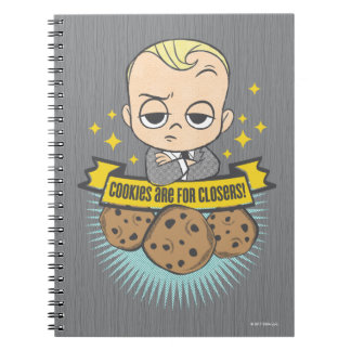 The Boss Baby | Baby & Cookies are for Closers! Notebooks