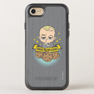 The Boss Baby | Baby & Cookies are for Closers! OtterBox Symmetry iPhone 7 Case