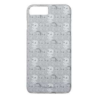 The Boss Baby | Grey Pattern iPhone 8 Plus/7 Plus Case