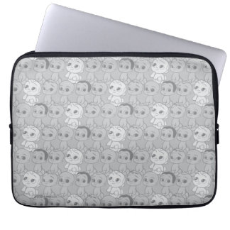 The Boss Baby | Grey Pattern Laptop Sleeve