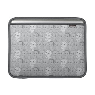 The Boss Baby   Grey Pattern Sleeves For MacBook Air