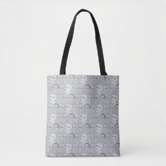 The Boss Baby | Grey Pattern Tote Bag