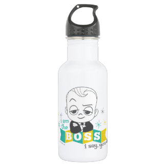 The Boss Baby | I am the Boss. I Say. You Do. 532 Ml Water Bottle