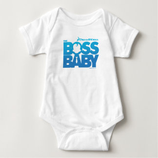 The Boss Baby Logo Baby Bodysuit