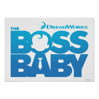 The Boss Baby Logo Poster