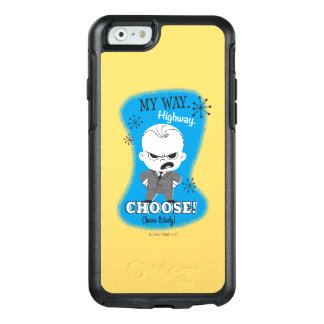 The Boss Baby | My Way. Highway. OtterBox iPhone 6/6s Case