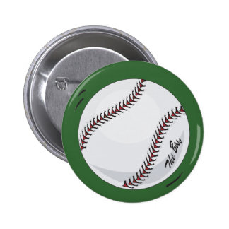 The Boss Baseball theme Pins