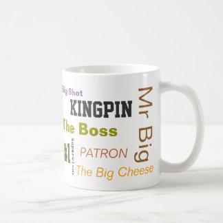 "The ""Boss"" Basic White Mug"