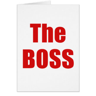 The Boss Cards
