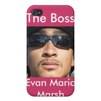 The Boss Evan Mario Marsh Cases For iPhone 4