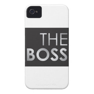 The Boss iPhone 4 Case-Mate Case