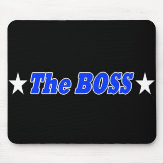The BOSS Mous Pad (Team KPM) Mouse Pad
