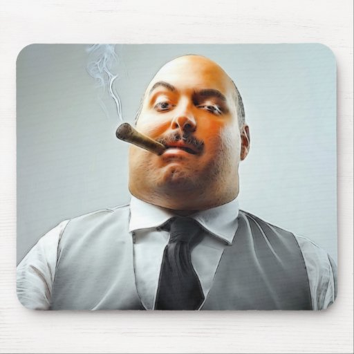 THE BOSS MOUSE PADS