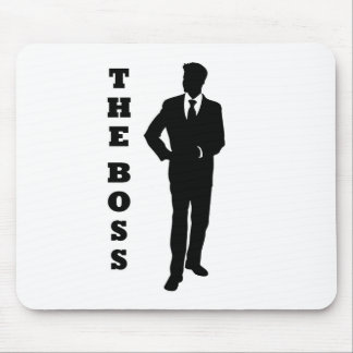 """""""The Boss"""" Mouse Pad"""