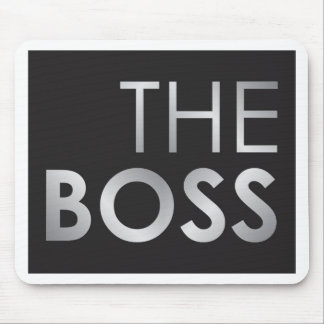 The Boss Mouse Pad