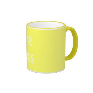 """""""The Boss"""" mug"""