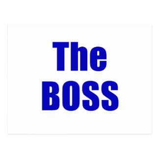 The Boss Postcard