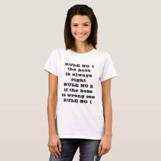 the boss t T-Shirt