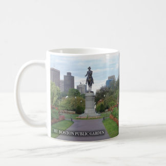 The Boston Public Garden Historical Mug
