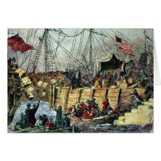 The Boston Tea Party, 16th December 1773 Card