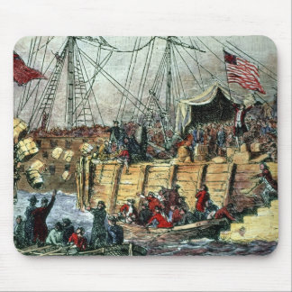 The Boston Tea Party, 16th December 1773 Mousepad