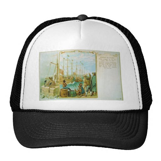 The Boston Tea Party of December 16th 1773 Trucker Hats