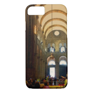 The Botafumeiro hanging inside the Cathedral iPhone 8/7 Case