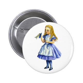 The Bottle Said Drink Me from Alice in Wonderland 6 Cm Round Badge