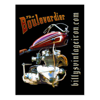 The Boulevardier Postcard